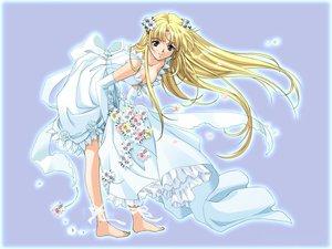 Rating: Safe Score: 18 Tags: tagme wedding wedding_attire words_worth User: Oyashiro-sama