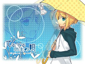 Rating: Safe Score: 12 Tags: kagamine_rin tamura_hiro umbrella vocaloid User: Xtea