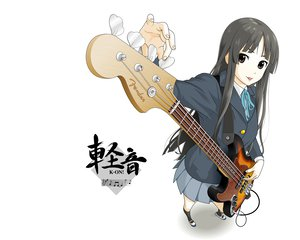 Rating: Safe Score: 64 Tags: akiyama_mio black_hair brown_eyes k-on! long_hair User: HeadPhone