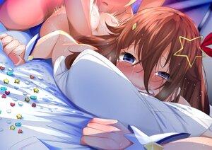 Rating: Explicit Score: 34 Tags: ass bed blue_eyes blush brown_hair fumihiko_(fu_mihi_ko) hololive long_hair nude sex tears tokino_sora User: BattlequeenYume