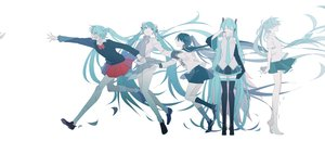 Rating: Safe Score: 24 Tags: aliasing hatsune_miku megurine_luka polychromatic rolling_girl_(vocaloid) unhappy_refrain_(vocaloid) ura-omote_lovers_(vocaloid) vocaloid white world's_end_dancehall_(vocaloid) zero_(jckz2334) User: FormX