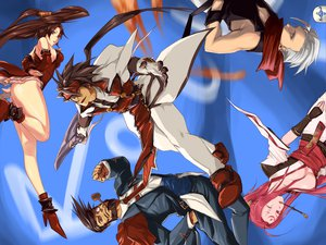 Rating: Safe Score: 26 Tags: baiken chipp_zanuff guilty_gear kuradoberi_jam order_sol slayer sol_badguy User: Tensa