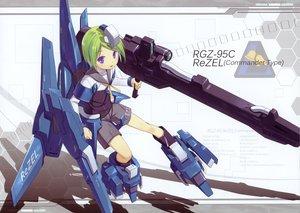 Rating: Safe Score: 72 Tags: green_hair gun mechagirl mobile_suit_gundam poco purple_eyes short_hair weapon User: Wiresetc
