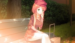 Rating: Safe Score: 101 Tags: amai_korone game_cg park touhikou_game yasuyuki User: Precursor