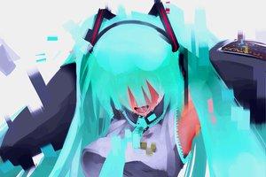 Rating: Safe Score: 78 Tags: crying hatsune_miku vocaloid User: HawthorneKitty