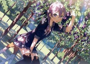 Rating: Safe Score: 211 Tags: blush braids food fruit kantoku purple_eyes purple_hair scan short_hair thighhighs tree twintails User: RyuZU