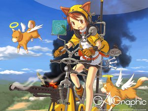 Rating: Safe Score: 8 Tags: animal_ears doggirl gagraphic gashin logo loli watermark User: Oyashiro-sama