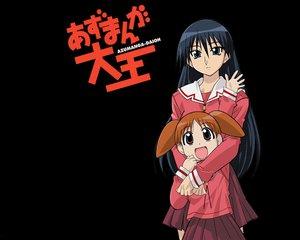 Rating: Safe Score: 9 Tags: azumanga_daioh mihama_chiyo sakaki User: Oyashiro-sama