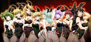 Rating: Questionable Score: 149 Tags: animal_ears aqua_eyes aqua_hair ass black_hair blonde_hair blush breasts brown_eyes bunny_ears cleavage green_hair group headband hoshiguma_yuugi kaenbyou_rin kisume komeiji_koishi komeiji_satori kurodani_yamame long_hair mizuhashi_parsee ootsuki_wataru pantyhose pointed_ears purple_eyes purple_hair red_eyes red_hair reiuji_utsuho short_hair touhou wink User: Avenger