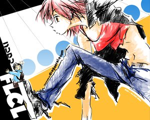 Rating: Questionable Score: 4 Tags: flcl User: Miko_chan