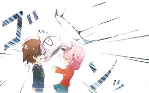 Rating: Safe Score: 42 Tags: fyu-neru guilty_crown ouma_shu rokunasi_hitonasi yuzuriha_inori User: Toshiro.A