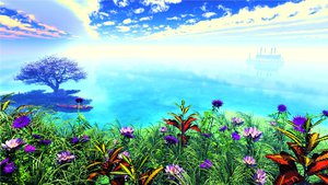 Rating: Safe Score: 107 Tags: 3d boat clouds flowers grass landscape nobody original scenic sky tree water y-k User: STORM