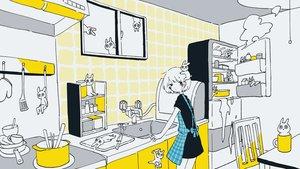 Rating: Safe Score: 33 Tags: animal apron blush dress mitsuki_sanagi polychromatic scenic short_hair User: otaku_emmy