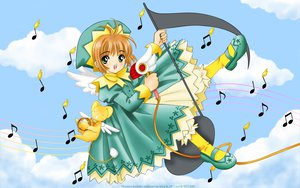 Rating: Safe Score: 10 Tags: card_captor_sakura hat kero kinomoto_sakura ribbons User: gnarf1975