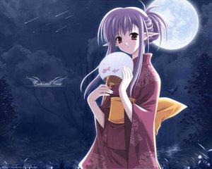 Rating: Safe Score: 50 Tags: japanese_clothes moon nerine pointed_ears shuffle sky stars suzuhira_hiro User: Tensa