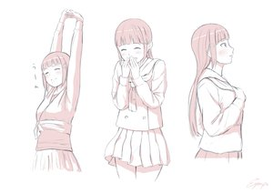 Rating: Safe Score: 23 Tags: blush kurosawa_dia long_hair love_live!_school_idol_project love_live!_sunshine!! papi_(papiron100) polychromatic seifuku skirt white User: RyuZU