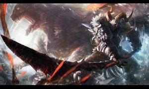 Rating: Safe Score: 268 Tags: armor horns original sword todee weapon User: Flandre93