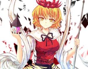 Rating: Safe Score: 43 Tags: blonde_hair crown short_hair toramaru_shou touhou x&x&x yellow_eyes User: Flandre93
