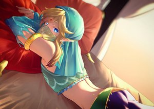 Rating: Safe Score: 16 Tags: all_male aqua_eyes bed blonde_hair link_(zelda) male mask pointed_ears rioshima_ayako the_legend_of_zelda User: mattiasc02