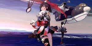 艦隊これくしょん-艦これ-の壁紙 5000×2500px 7486KB