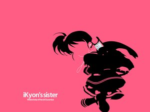Rating: Safe Score: 8 Tags: ipod kyon_no_imouto parody pink silhouette suzumiya_haruhi_no_yuutsu User: Oyashiro-sama