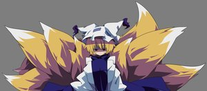 Rating: Safe Score: 17 Tags: animal_ears foxgirl multiple_tails tail touhou transparent vector yakumo_ran User: RyuZU