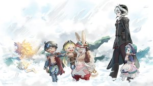 Rating: Safe Score: 74 Tags: animal_ears black_hair blonde_hair brown_hair bunny_ears green_hair group hat janemere loli long_hair made_in_abyss maid male maruruk_(made_in_abyss) mitty_(made_in_abyss) nanachi ouzen_(made_in_abyss) pointed_ears regu_(made_in_abyss) riko_(made_in_abyss) short_hair signed tail white_hair User: BattlequeenYume