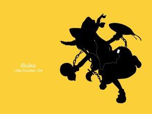 Rating: Safe Score: 34 Tags: ibuki_suika ipod parody silhouette touhou yellow User: grudzioh