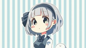 Rating: Safe Score: 37 Tags: animated blush bow fang gray_hair headband konpaku_youmu myon pegashi short_hair third-party_edit touhou User: RyuZU