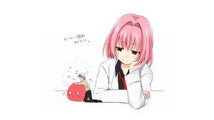 Rating: Safe Score: 30 Tags: beelzebub_(manga) chibi green_eyes lamia_(beelzebub) male nnyarapa pink_hair takayuki_furuichi white User: Freenight