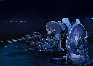 Rating: Safe Score: 104 Tags: ak12_(girls_frontline) an94_(girls_frontline) anthropomorphism dyolf girls_frontline group gun m4a1_(girls_frontline) night signed st_ar-15_(girls_frontline) weapon User: FormX