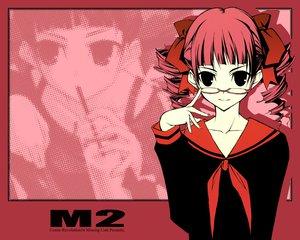 Rating: Safe Score: 16 Tags: glasses maria-sama_ga_miteru matsudaira_touko red red_hair shingo_(missing_link) User: Oyashiro-sama