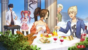 Rating: Safe Score: 11 Tags: aqua_eyes arad_senki black_hair blonde_hair blush brown_hair choker dress drink dungeon_and_fighter dungeon_fighter_online food group long_hair male pink_hair pointed_ears ponytail red_eyes short_hair tagme_(artist) thighhighs twintails white_hair zettai_ryouiki User: luckyluna