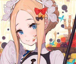 Rating: Safe Score: 56 Tags: abigail_williams_(fate/grand_order) blonde_hair blue_eyes bow braids butterfly close cropped fate/grand_order fate_(series) flowers headdress long_hair rose yuu_(higashi_no_penguin) User: otaku_emmy