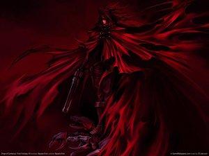 Rating: Safe Score: 55 Tags: dark final_fantasy gun polychromatic red vincent_valentine weapon User: Tensa