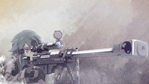 Rating: Safe Score: 73 Tags: gun gun_gale_online shinon_(sao) sword_art_online tagme_(artist) weapon User: kyxor