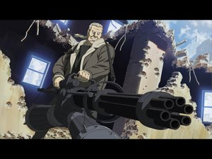 Rating: Safe Score: 46 Tags: batou ghost_in_the_shell gun weapon User: Oyashiro-sama