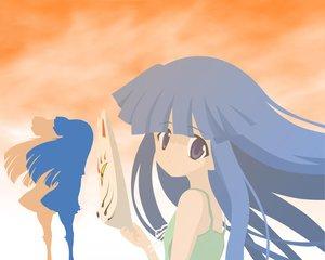 Rating: Safe Score: 12 Tags: furude_rika higurashi_no_naku_koro_ni mask orange silhouette User: Oyashiro-sama