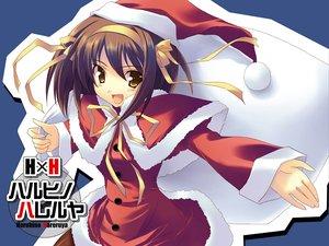 Rating: Safe Score: 17 Tags: christmas hat santa_costume santa_hat suzumiya_haruhi suzumiya_haruhi_no_yuutsu User: Oyashiro-sama