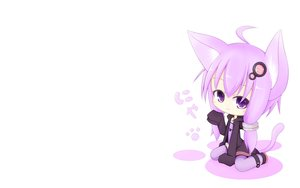Rating: Safe Score: 140 Tags: animal_ears catgirl chibi hoodie miiya_(kuroi_hako) purple_eyes purple_hair tail vocaloid voiceroid white yuzuki_yukari User: SciFi