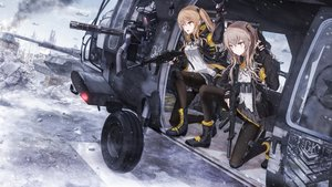 Rating: Safe Score: 48 Tags: anthropomorphism boyogo girls_frontline gun ump-45_(girls_frontline) ump-9_(girls_frontline) weapon User: kyxor