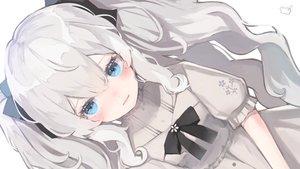 Rating: Safe Score: 45 Tags: aqua_eyes bow close gray_hair lolita_fashion long_hair polychromatic retorillo shanoa_asmr shanoa_(vtuber) twintails User: BattlequeenYume