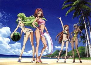 Rating: Questionable Score: 164 Tags: ass beach bikini cc cleavage code_geass kallen_stadtfeld scan shirley_fenette swimsuit viletta_nu User: Wiresetc