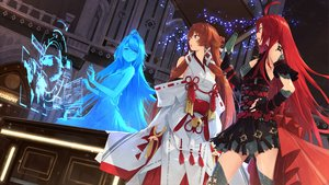 Rating: Safe Score: 68 Tags: book brown_hair building code:_d-blood gloves japanese_clothes long_hair miko red_eyes red_hair somehira_katsu tagme_(character) thighhighs uesugi_eri User: BattlequeenYume