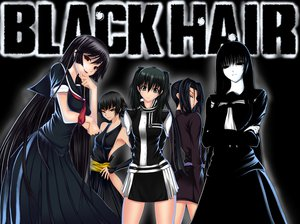 Rating: Safe Score: 156 Tags: black_hair black_lagoon bleach crossover d.gray-man dress fang gray_eyes hagoromo_kitsune kamura_reiri kazuhiro_shimazu lenalee_lee long_hair nopan nurarihyon_no_mago parody ponytail princess_resurrection red_eyes seifuku short_hair soifon tie User: Wiresetc