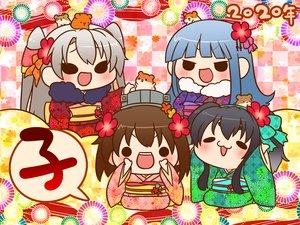 Rating: Safe Score: 16 Tags: amatsukaze_(kancolle) animal anthropomorphism black_eyes black_hair blue_hair blush brown_hair cat_smile chibi gray_hair group hatsukaze_(kancolle) japanese_clothes kantai_collection kimono long_hair short_hair tokitsukaze_(kancolle) twintails waifu2x yamaru_(marumarumaru) yukikaze_(kancolle) User: otaku_emmy