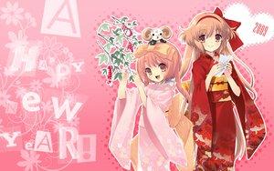 Rating: Safe Score: 30 Tags: akihime_sumomo alice_parade crossover emudori hitorimeno_alice itou_noiji japanese_clothes kimono nanatsuiro_drops unisonshift yuki-chan User: Wizzard