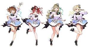 Rating: Safe Score: 67 Tags: blonde_hair blue_eyes boots bow breast_hold brown_eyes brown_hair cat_smile crown garter gloves group kaname_mahiro long_hair marinasu_(kari) otonoha_naho ponytail red_eyes red_hair ribbons short_hair skirt suzuna_subaru touma_rin uniform white wristwear yellow_eyes yuu_(higashi_no_penguin) User: otaku_emmy