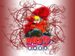 Rating: Safe Score: 3 Tags: all_male animal blonde_hair blue_eyes frog gaara headband male naruto red_hair sword uzumaki_naruto weapon User: Oyashiro-sama