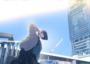 Rating: Safe Score: 36 Tags: building city dress maeda_mic original short_hair sky User: Dreista